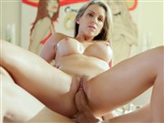 Hot POV fucking with Courtney Cummz and her pierced clit video