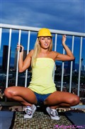 Aaliyah Love as a super cute construction worker from Aaliyah Love