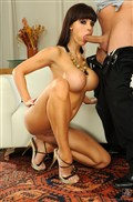 Aletta Ocean rides a big dick and shows off her nice tits from 21 Sextury