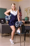 Alexis Texas gets nailed in her cute cheerleading uniform