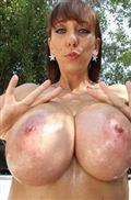 Alia Janine gets banged after washing her car and big tits from BangBros