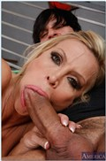 Amber Lynn is one smoking sex teacher