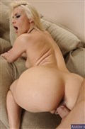 Anikka Albrite gets a little naughty in her short shorts