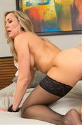 Brandi Love rips off her red dress to get fucked hard from Naughty America