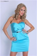 Brandi Love gets banged by Ryan in her sexy blue dress from Pornfidelity