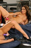 Breanne Benson and Gracie Glam toy each other Picture 16