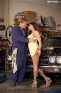 Brooke Belle gets screwed in the shop by a mechanic from Penthouse