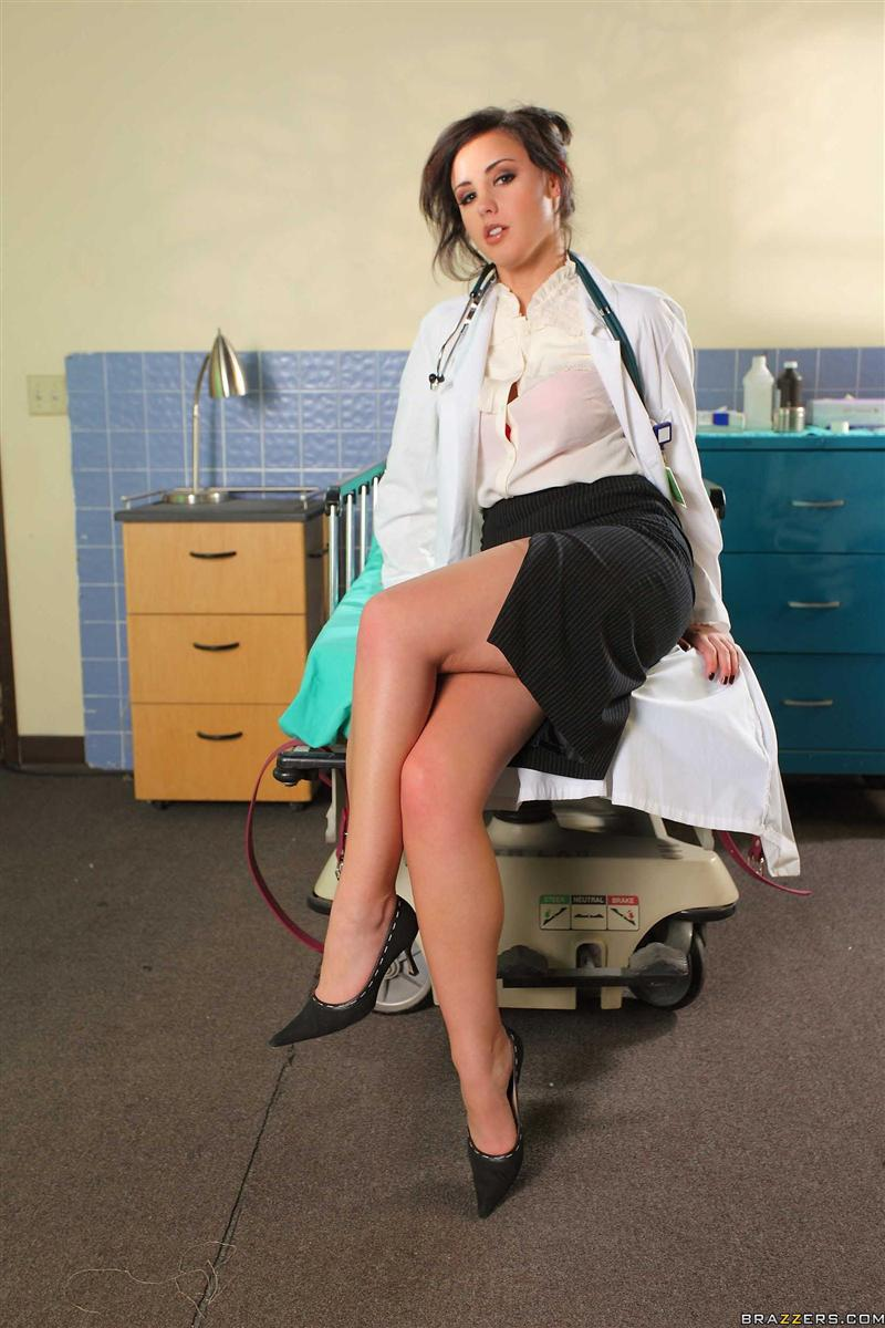 Brooke Lee Adams hot doctor gets banged hard Main Image
