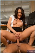 Capri Cavanni sexy office babe gets banged at work from Naughty America