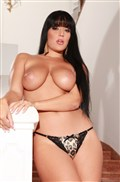 Carmen Croft sucks dick and gets her big tits cummed on from evilangel