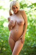 Courtney Cass shows off her hot body in the woods Picture 17