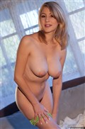 Pretty blonde Dalia Dayze shows off her big perfect tits from Digital Desire