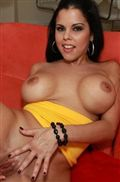 Diamond Kitty gets fucked in a tight yellow top from BangBros