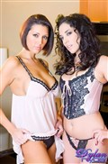 Dylan Ryder and Jelena Jensen make out in the kitchen from Dylan Ryder