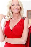 Emma Starr gets nailed at an art gallery in a sexy red dress Picture 10