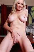 Emma Starr gets nailed at an art gallery in a sexy red dress Picture 06