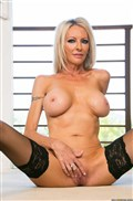 Emma Starr rides a rock hard cock in her sexy stockings Picture 08