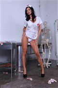 Nurse Jasmine Jae  gets fucked hard on Halloween