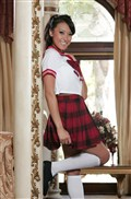 School girl Jayden Lee gets fucked in her plaid skirt from New Sensations