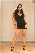 Jessica Bangkok sucks and fucks in her little black dress from Hustler