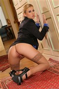 Jessie Volt sexy business woman takes it in the ass from evilangel