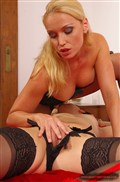 Kathia Nobili and her girlfriend use dildos and strapons from 21 Sextury