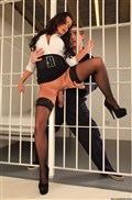 Keira Knight naughty prison babe gets screwed in her cell