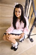 Kendall Karson gets screwed in her pink girly dress and bow from New Sensations