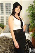 Kendra Lust gets banged in white lingerie and nude stockings Picture 01