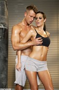 Kortney Kane gets screwed after a long boxing workout from Penthouse