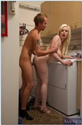Kristy Snow gets drilled hard in the laundry room