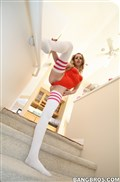 Lexi Belle gets drilled in her super cute white long socks from BangBros