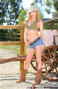 Lexi Belle gets nailed on pool table in cowboy hat and boots from Digital Playground