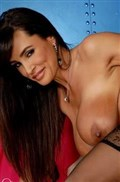 Lisa Ann gets nailed on the couch in her black stockings from Brand Danger