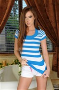 Maddy OReilly gets screwed in the bathroom by a dark dick from 21 Sextury