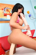 Mason Moore uses some huge toys on her Pussy