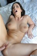 Melina Mason gets wet in the hot tub and fucks in bed from Mofos Network