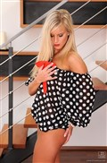 Marry Queen strips off polka dot top and plays with herself