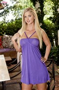 Natalie Nice strips off her cute purple dress