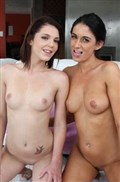 Nikki Daniels gets invited by Kiera Winters to share cock Picture 16