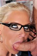 Glasses babe Phoenix Marie gets banged at work from 21 Sextury