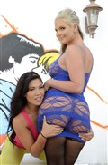 Phoenix Marie and London Keyes share cock from evilangel