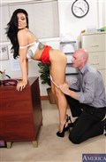 Romi Rain fucks her hot coworker during office hours from Naughty America