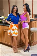 Romi Rain and Ava Addams busty babes share dick Picture 01