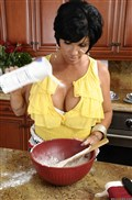 Shay Fox gets drilled hard in her nice kitchen Picture 10