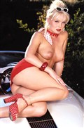 Silvia Saint hot pornstar centerfold photos from the 90s