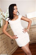 Skin Diamond gets fucked in her sexy white dress from Penthouse