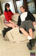 Stephanie Sage gets banged in her school girl uniform