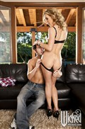 Tanya Tate sexy housewife takes dick on the couch from Wicked