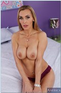 Tanya Tate and Diana Doll show off their tits and share dick from Naughty America
